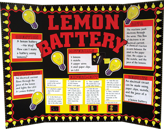 electric science fair projects